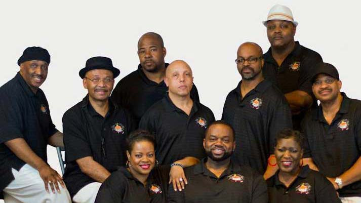 The House of Soul Band loves to share the love of R&B, funk and soul music.